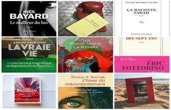 بينها رواية لكاتبة مغربية.. تعرف على الأعمال المرشحة للفوز بالجونكور 2018 | صور