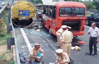 وفاة 12 شخصا في حادث تصادم شاحنة بحافلة شمالي فيتنام