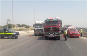 مرور سوهاج يحرر 631 مخالفة على الطرق الرئيسية والسريعة بسوهاج