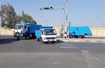 تدشين منظومة نظافة جديدة بحي شرق مدينة نصر | صور