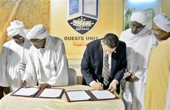 تعاون مشترك بين جامعة عين شمس وجامعة الخرطوم السودانية| صور