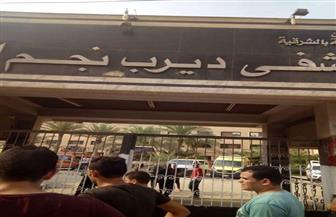 تشييع جثمان سيدة أصيبت في حادث تسمم مستشفى ديرب نجم بالشرقية