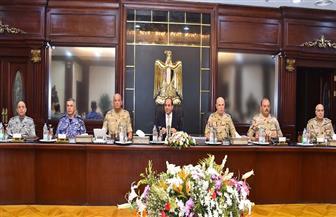 الرئيس السيسي يترأس اجتماع المجلس الأعلى للقوات المسلحة | صور