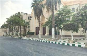 رئيس جامعة القاهرة: مستمرون في أعمال تطوير الحرم الجامعي  صور