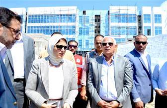 وزيرة الصحة تعلن من بورسعيد موعد التشغيل التجريبي لمنظومة التأمين الصحي الشامل