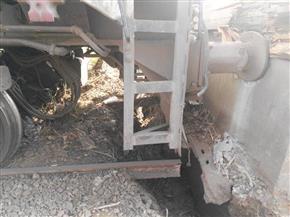 السكك الحديدية: رفع جرار قطار (طنطا -منوف) إلى السكة.. والحركة لم تتأثر