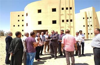 محافظ الفيوم: إعادة تشغيل مستشفى يوسف الصديق المغلق   صور