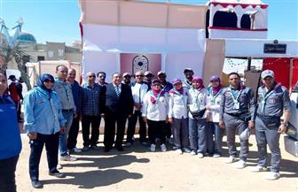 جامعة حلوان تشارك في أسبوع شباب المدن الجامعية بالسويس بـ58 طالبا   صور