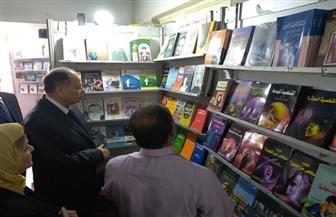 محافظ الفيوم يفتتح المعرض الأول للكتاب بقصر الثقافة | صور