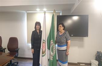 مديرة منظمة المرأةالعربية تلتقي رئيس اتحاد المستثمرات العرب