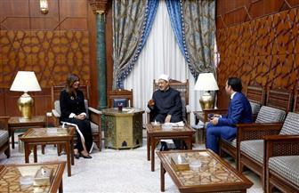 وزيرة الهجرة تلتقي شيخ الأزهر برفقة أبناء المصريين بأستراليا|صور