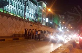 إغلاق نفق الهرم بسبب انقلاب سيارة نقل