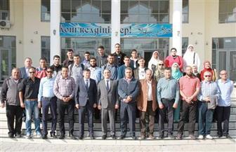 أوائل الثانوية الأزهرية يزورون الجامعة المصرية للثقافة الإسلامية بكازاخستان