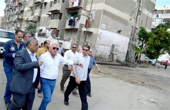 """""""الغضبان"""" يشدد على رؤساء الأحياء بتكثيف حملات إزالة الإشغالات والتعدي على نهر الطريق"""