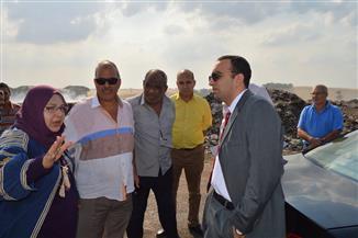 نائب محافظ الإسماعيلية يتفقد مصنع تدوير القمامة بأبو بلح | صور