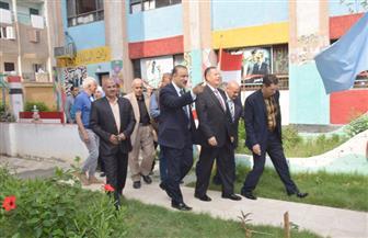 محافظ بني سويف يتابع استعدادات المدارس لاستقبال العام الدراسي الجديد  صور