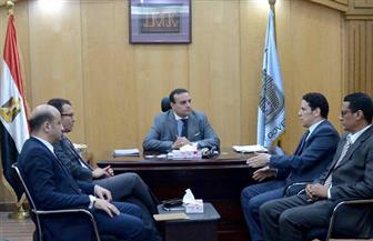 مساعد وزير الاتصالات بالأقصر لميكنة ديوان عام المحافظة   صور