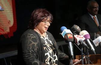 """وزيرة الثقافة: مشروع """"عاش هنا"""" يهدف إلى تخليد ذكرى رموز مصر من المبدعين.. ويحفز القلوب على العمل الجاد"""