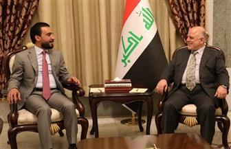 العبادي والحلبوسي يتفقان على الإسراع في تشكيل الحكومة العراقية الجديدة