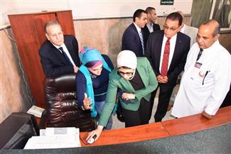 وزيرة الصحة: الانتهاء من إجراء 20 ألفا و694 عملية ضمن مبادرة الرئيس للقضاء على قوائم الانتظار | صور
