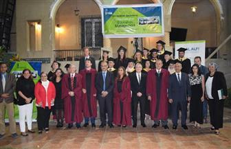 """جامعة حلوان تحتفل بتخرج الدفعة الـ 5 لبرنامج ماجستير إدارة التعليم الدولي بالاشتراك مع """"لودفيجسبورج"""" الألمانية"""