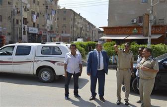 إعادة تنظيم سير السيارات في شوارع كفرالشيخ للقضاء على الازدحام | صور