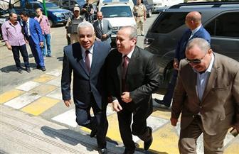 محافظ كفرالشيخ يبحث عددا من الملفات الأمنية مع مدير الأمن | صور