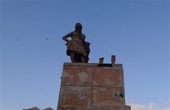 """مصدر: تمثال """"بائع العرقسوس"""" المختفي في الإسكندرية لا يتبع وزارة الآثار"""