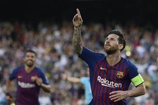 ميسى يقود برشلونة لاكتساح إيندهوفن برباعية في دوري الأبطال
