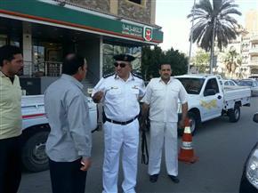 ضبط 2115 مخالفة في حملة مرورية بالإسماعيلية