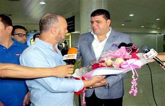 بعثة المصري تصل لمدينة سطيف الجزائرية لملاقاة اتحاد العاصمة في لقاء العودة بالكونفيدرالية |صور