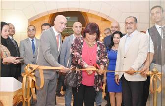 وزيرة الثقافة تفتتح صالون النحت الثانى بقصر الفنون | صور