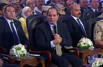 """الرئيس السيسي: يجب الاستمرار في منظومة العلاج الاعتيادية بالتوازى مع """"قوائم الانتظار"""""""
