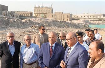 محافظ القاهرة يتفقد إزالات مثلث ماسبيرو.. ويوجه بسرعة نقل مخلفات الهدم | صور