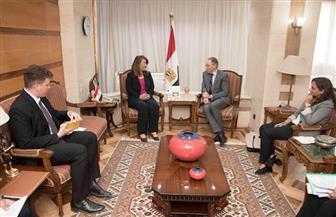 وزيرة التضامن  تستقبل سفير أستراليا بالقاهرة | صور