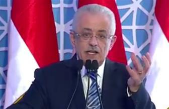 وزير التعليم: تعاقدنا على 700 ألف تابلت وشاشات تفاعلية لـ11 ألف فصل ثانوي