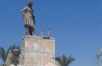 محافظة الإسكندرية توضح حقيقة اختفاء تمثال العرقسوس