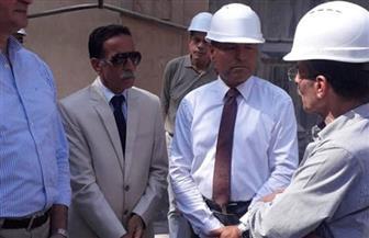 نائب محافظ القاهرة يتفقد محطة مترو أنفاق الألف مسكن| صور
