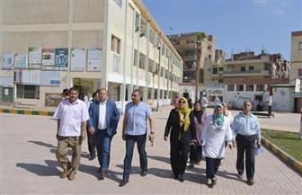 لجنة عاجلة بكفرالشيخ للتفتيش على المدارس استعدادا للعام الجديد   صور
