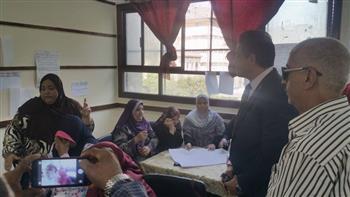 نائب محافظ القاهرة يتأكد من جاهزية مدارس حلوان ودار السلام للعام الدراسى| صور