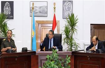 وزير الآثار يجتمع باللواء عصام والي وأعضاء لجان متحف الحضارة لبحث سير العمل