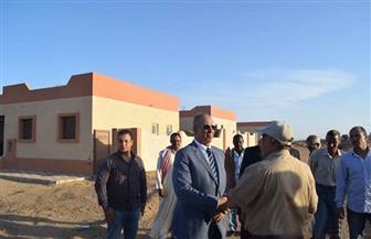 محافظ البحر الأحمر يتفقد مشروع مساكن الروضة بمدينة رأس غارب   صور