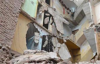 انتشال جثة مواطن لقي مصرعه في انهيار منزل أثناء التنقيب عن الآثار بالمنيا