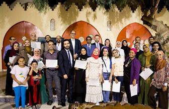 بيت جميل للفنون التراثية بالقاهرة يحتفل بتخرج الدفعة الثامنة.. 26 سبتمبر | صور
