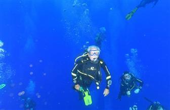 """مغامرة للغواصين من ذوي الاحتياجات الخاصة في شرم الشيخ لكسر الرقم القياسي لـ""""البحرية الأمريكية"""""""