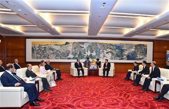الرئيس السيسى يجرى حوارا مفتوحا مع طلاب أكاديمية الحزب الشيوعى الصيني   صور