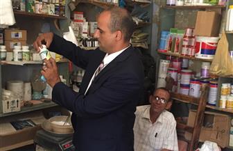 ضبط 3829 عبوة دواء مخالف في حملات تفتيشية على مراكز بيع الأدوية البيطرية بالشرقية