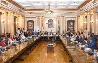 وزيرة التخطيط تشهد توقيع اتفاقية تعاون بين جامعة القاهرة ومجلس الوحدة الاقتصادية العربية | صور