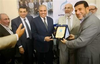 رئيس جامعة الأزهر يختتم جولته بطنطا  بلقاء موسع مع  طلاب كلية القرآن الكريم |صور