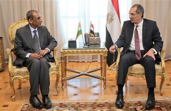 وزير الاتصالات يبحث مع سفير الهند بالقاهرة جذب الاستثمارات إلى مصر